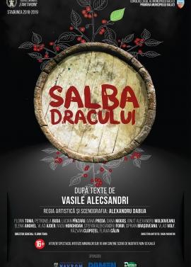 Afis spectacol - SALBA DRACULUI, Teatrul Dramatic Fani Tardini