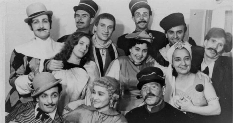 D`ale carnavalului, 1957