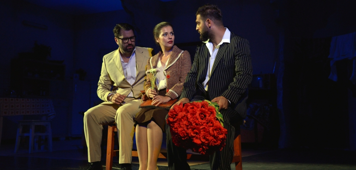 BUTOIUL CU PULBERE, Teatrul Dramatic Fani Tardini Galati