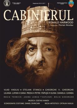 Afis spectacol - CABINIERUL, Teatrul Dramatic Fani Tardini Galati