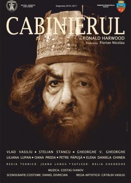 Afis spectacol - CABINIERUL, Teatrul Dramatic Fani Tardini