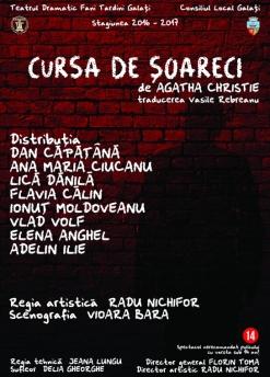 Afis spectacol - Cursa de şoareci, Teatrul Dramatic Fani Tardini Galati