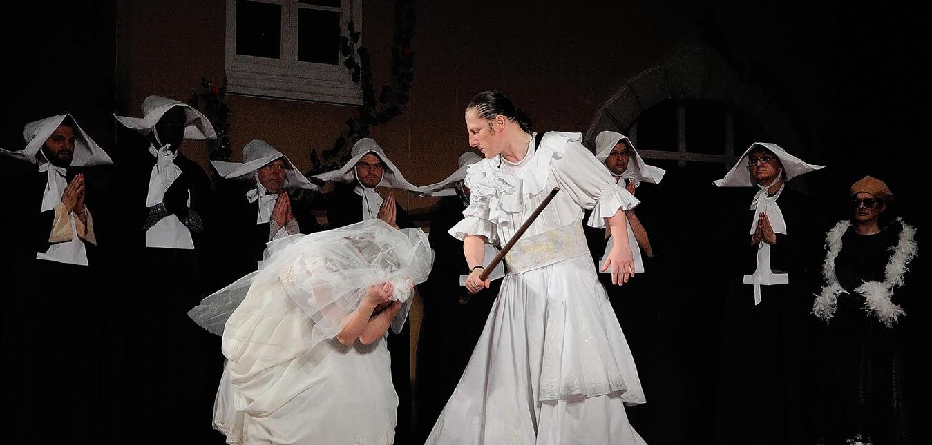 ÎMBLÂNZIREA SCORPIEI, Teatrul Dramatic Fani Tardini Galati