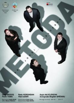 Afis spectacol - METODA, Teatrul Dramatic Fani Tardini Galati