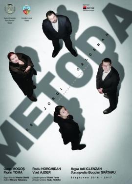 Afis spectacol - METODA, Teatrul Dramatic Fani Tardini