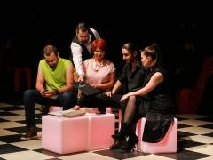 """04.10.2018 - Deschiderea oficială a Galei Nationale a Comediei - Teatrul Dramatic """"Fani Tardini"""" Galați, MONSTRUL NISIPURILOR"""
