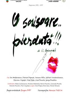 Afis spectacol - O SCRISOARE... PIERDUTĂ!!!, Teatrul Dramatic Fani Tardini Galati