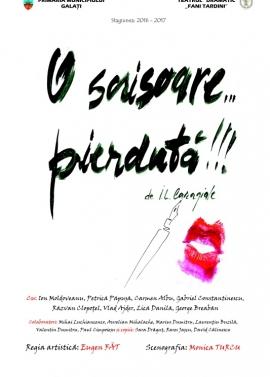 Afis spectacol - O SCRISOARE... PIERDUTĂ!!!, Teatrul Dramatic Fani Tardini