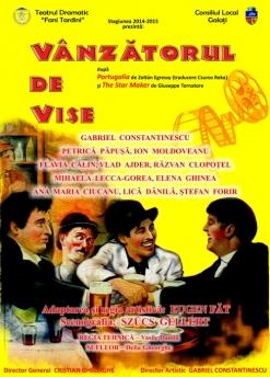 Afis spectacol - VÂNZĂTORUL DE VISE, Teatrul Dramatic Fani Tardini Galati