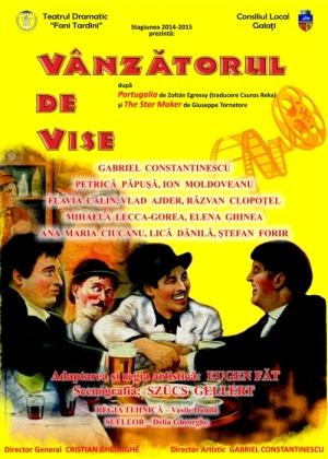 Afis spectacol VÂNZĂTORUL DE VISE
