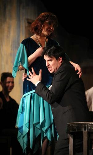 Domnișoara Nastasia, Teatrul Dramatic Fani Tardini, Galati